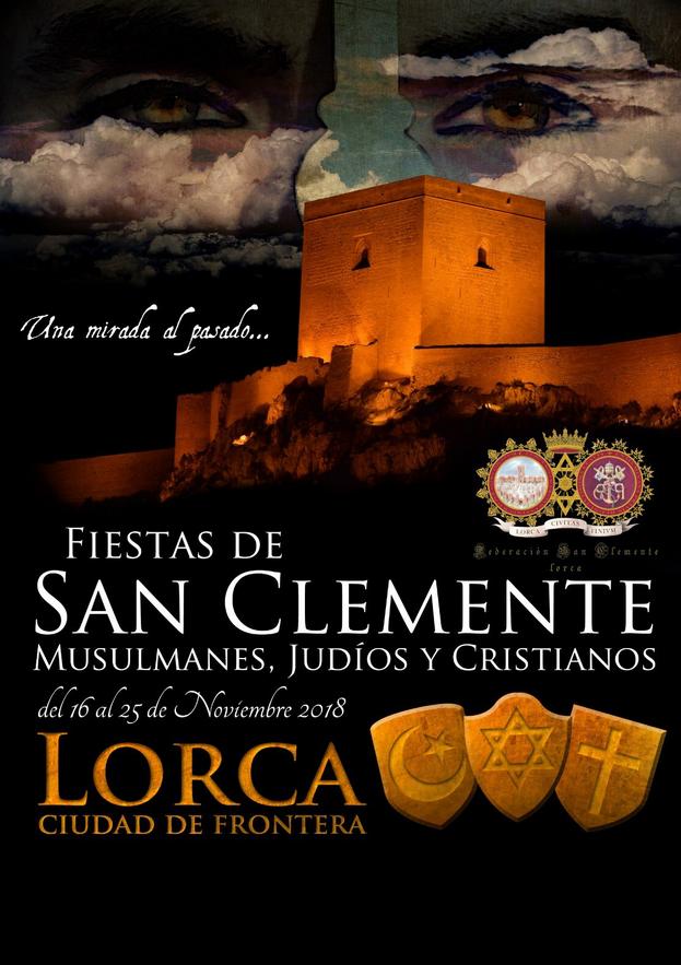 Cartel Fiestas Medievales San Clemente 2018 Federación San Clemente